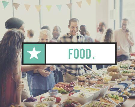 nourishment: Food Beverage Dining Nourishment Organic Concept Stock Photo