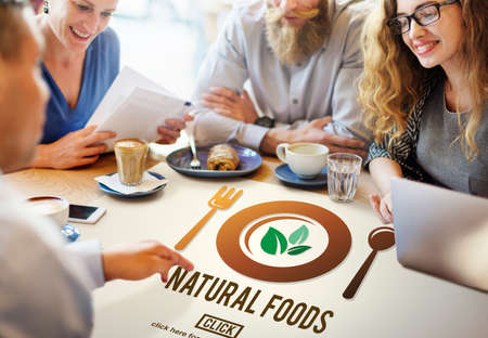 small business team: Natural Food Organic Healthy Health Concept