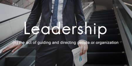 role model: Leadership Lead Guiding Support Integrity Concept Stock Photo