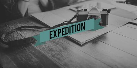 Exploration Expedition Journey Transportation Concept
