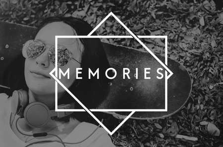 remember: Recuerdos Información de Datos Mente Recuerde Concept