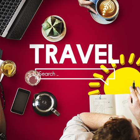 Online search with travel concept