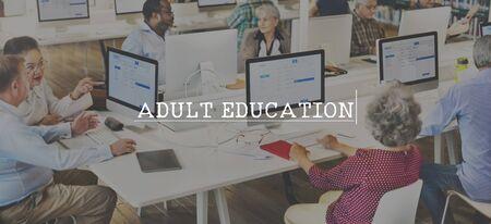 Erwachsenenbildung Lernen Interactive Studienkonzept