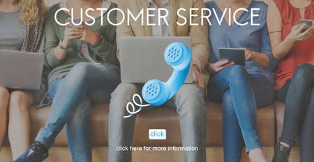customer support: Customer Support Service Care Consumer Client Concept Stock Photo