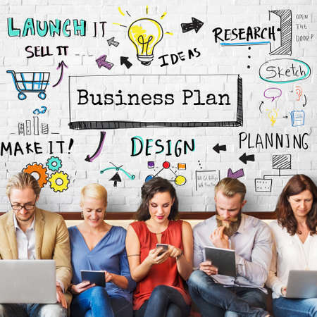 operations: Business Planning Strategy Process Operations Concept Stock Photo