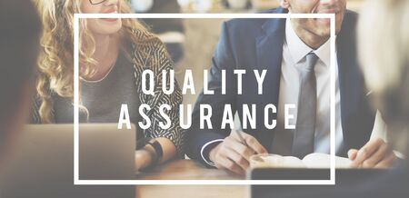 perfomance: Perfomance Level Quality Assurance Business Concept