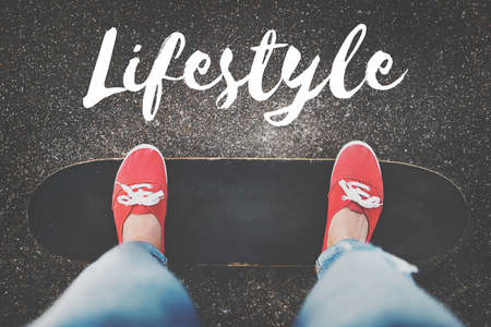 way of life: Lifestyle Culture Way of Life Interests Passion Habits Concept
