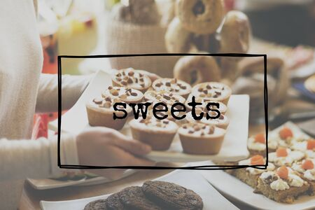 sweet treats: Sweet Treats Sweets Dessert Food Concept
