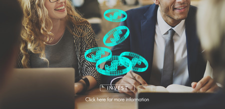 Digital Assets Finance Money Business Concept Stock Photo
