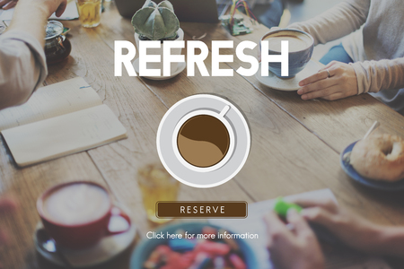 aromatic: Beverage Cafe Refresh Coffee Break Aromatic Concept