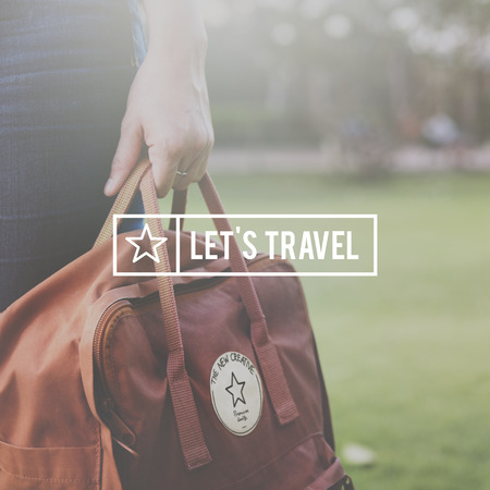 to have: Have Break Travel Journey Freedom Concept Stock Photo