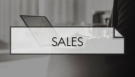 busines: Sales Finance Financial Busines Marketing Concept