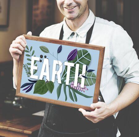 recursos naturales: Ecología Vegetal Tierra concepto de medio ambiente de los Recursos Naturales