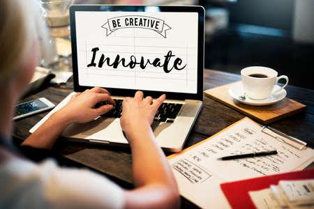 Innovate Aspiration Development Invention Vision Concept