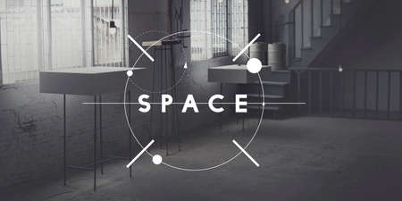 office space: Space Design Decorate Modern Office Private Concept