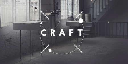 skilled: Craft Art Handmade Talent Skilled Concept Stock Photo