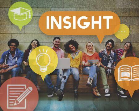 an understanding: Insight Understanding Mindful Awareness Believe Concept