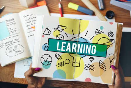 highlight: Learning Development Ideas Improvement Insight Concept