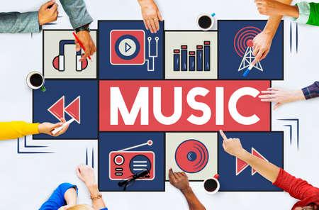 instrumental: Music Audio Art Instrumental Melody Playing Concept