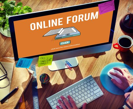 discussion forum: Online Forum Discussion Assembly Information Concept