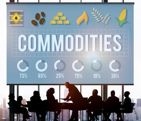 Commodities Demand Distribution Economy Concept