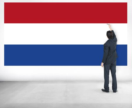 dutch culture: Netherland Country Flag Liberty National Concept