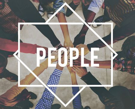 community people: People Community Connection Communication Society Concept