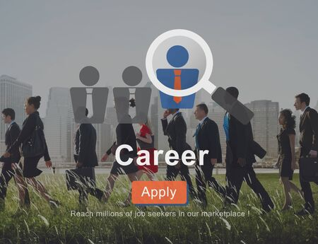 expertise: Career Human Resources Expertise Job Concept
