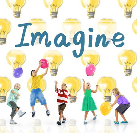 Imagine Vision Inspiration Creativity Dream Big Concept Stock Photo