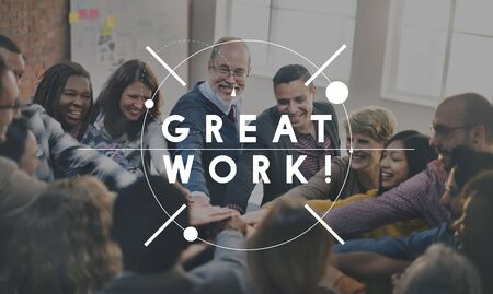 expertise: Great Work Excellent Expertise Perfect Success Concept