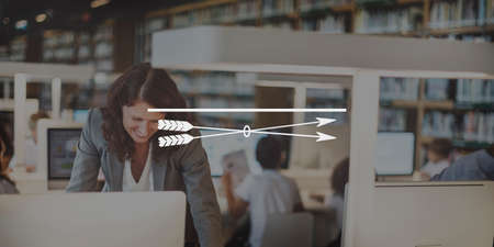 focal point: Clarity Closeup Focal Point Spotlight Target Vision Concept Stock Photo