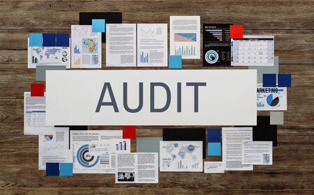 financial statement: Audit Compliance Evaluation Financial Statement Concept