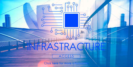 Circuit Board Chip Technology Concept