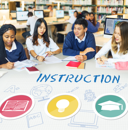 instruction: Instruction Teaching Education Knowledge School Concept
