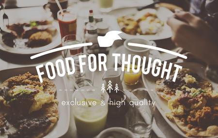 Пищевая Flavorsome Гостеприимство Delight Concept