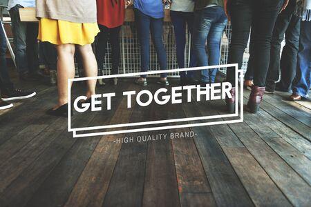 meetup: Get Together Gethering Support Teamwork Concept