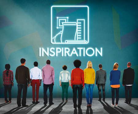 aspiration: Inspiration Imagination Aspiration Motivate Concept Stock Photo