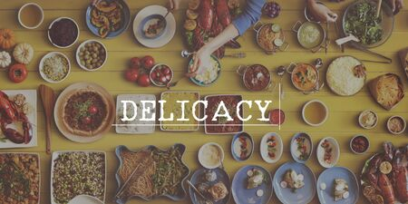 flavour: Eat Well Delicious Meal Flavour Concept