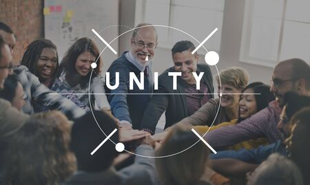 african solidarity: Unity Connection Community Friendship Support Concept