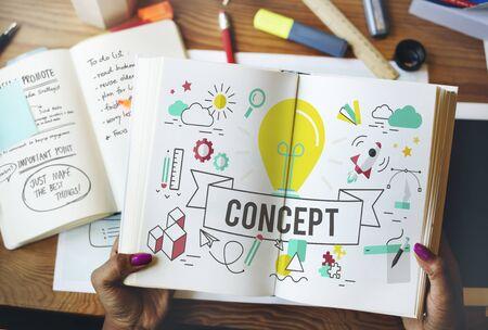 notion: Conceptualize Ideas Creative Inspire Imagination Concept