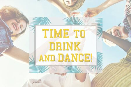 Lets Celebrate Festivity Summer Happy Concept