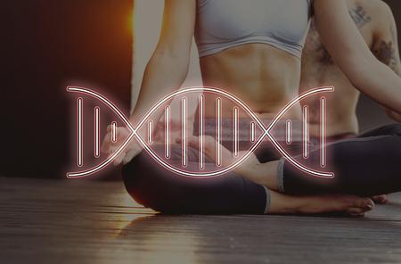 genetics: DNA Chromosome Genetics Concept