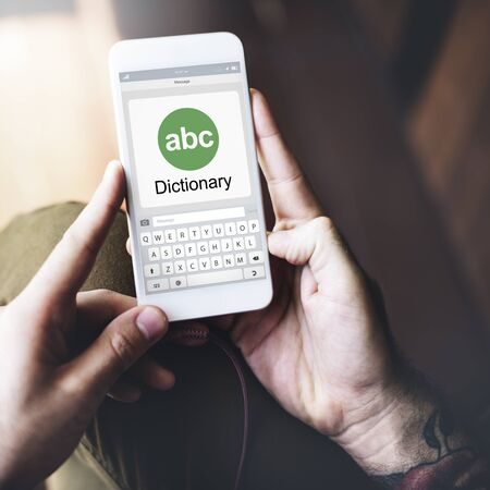 interpreter: Translator Dictionary Language Interpreter Concept