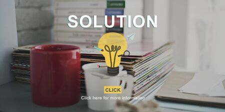 problem solution: Solution Problem Solving Research Progress Strategy Concept