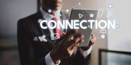 communications technology: Social Networking Global Communications Technology Connection Concept
