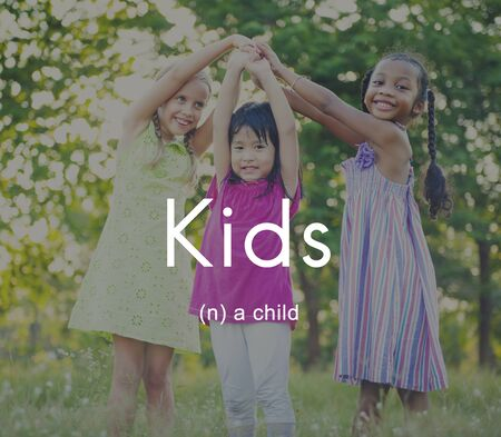 Kids Youth Children Child Young Concept