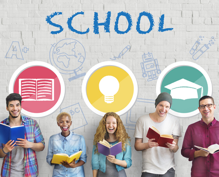 educational institution: School Educational Knowledge University Learning Concept