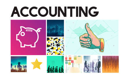 revenue: Accounting Banking Finance Revenue Graphic Concept