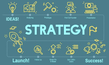 Strategy Development Objective Planning Vision Concept