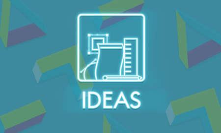tactics: Ideas Design Vision Tactics Vision Plan Strategy Concept